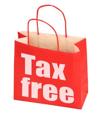 Das «Tax Free Shopping» steht für steuerfreie Einkäufe in den USA, die nur an wenigen Standorten zu bekommen sind.
