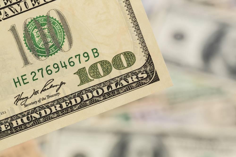 Geld In Den Usa Mit Dem Us Dollar Wird Gezahlt