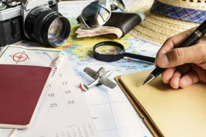 Vor der Reise gilt es, sich über Eigenheiten der USA zu informieren und seine Abwesenheitszeit vorzubereiten.