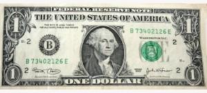 Alte Dollar Scheine