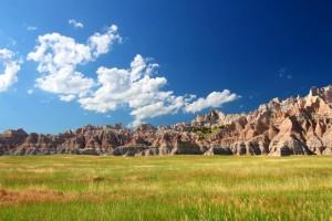 Der Badlands National Park liegt im Südwesten South Dakotas.
