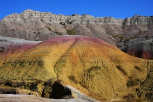 Der Badlands-Nationalpark liegt im Südwesten South Dakotas.
