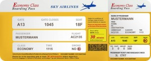 Der Luftfrachtführer muss einem Reisenden, der den Flugschein verloren hat, ein Ersatzdokument ausstellen.