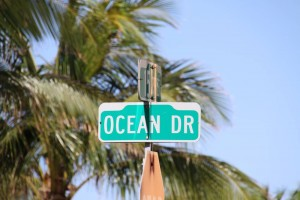 Der Ocean Drive ist eine Straße im südlichen Teil von Miami Beach.