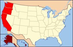 Wenn von der Westküste der USA die Rede ist, dann denkt fast jeder zuerst an den Sonnenstaat Kalifornien.