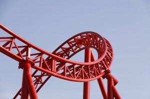 Immer neue Attraktionen faszinierende die wagemutigen Besucher der Freizeitparks.
