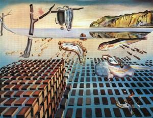 Disintegration of the Persistence of Memory: Eines der berühmtesten Gemälde Dalis und des Surrealismus überhaupt.