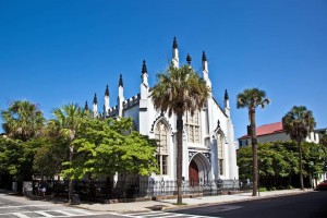 Huguenot Church in Charleston.