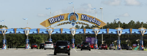 Magic Kingdom ist ein Vergnügungspark im Walt Disney World Resort in Lake Buena Vista im Bundesstaat Florida.