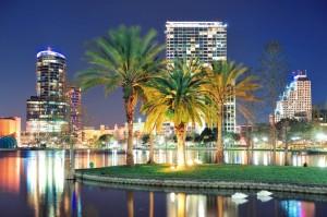 """Die """"Touristen-Hauptstadt der USA"""" bietet auch in der Nacht ein imposantes Bild."""