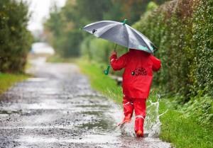Regnet es in Freizeitparks, so ist der Besucher oftmals einer Geduldsprobe ausgesetzt.