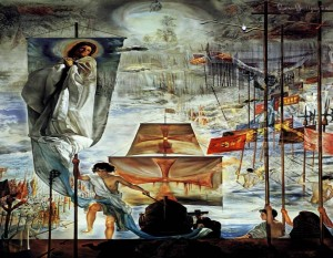The Discovery of America by Christopher Columbus (Salvador Dali).