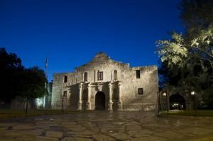 Das Alamo ist nicht nur ein historisches, sondern auch ein wunderschönes Gebäude.
