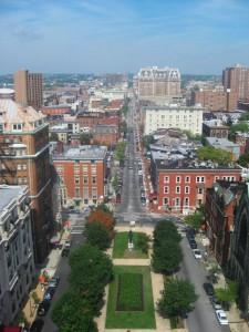 Mount Vernon ist eines der reichsten Viertel Baltimores.