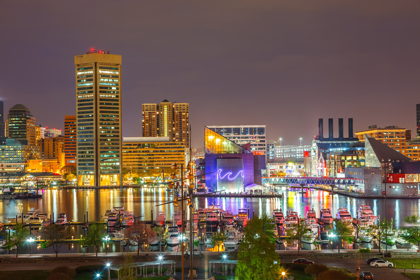 Baltimore Die Independent City In Maryland