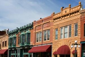 Deadwood war eine der wildesten Gold Rush-Städte und hatte im Jahre 2000 noch 1.380 Bewohner.