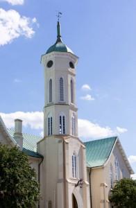 Auch eine Kleinstadt wie Fredericksburg hat Sehenswürdigkeiten. Eine davon ist das Fredericksburg County Courthouse.