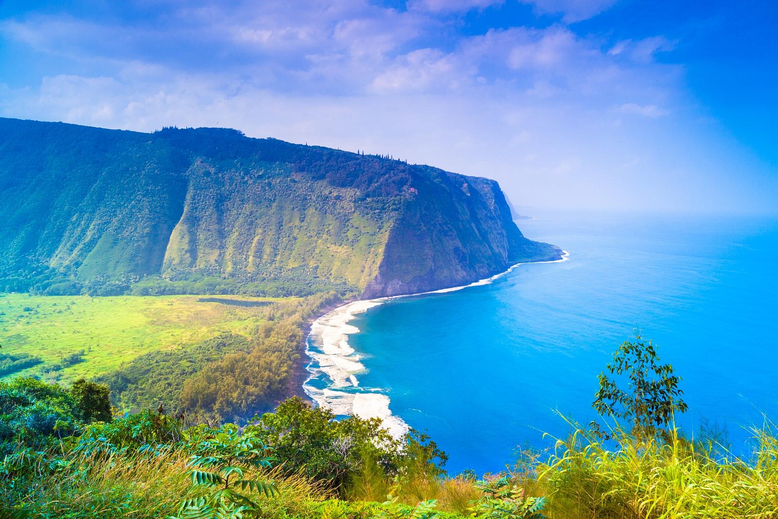 Camping Hawaii Island