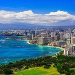 Honolulu ist die Hauptstadt Hawaiis und befindet sich im Süden der Insel Oʻahu.