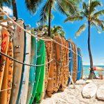 Waikiki ist ein Stadtteil von Honolulu und beherbergt den gleichnamigen Waikiki-Strand.