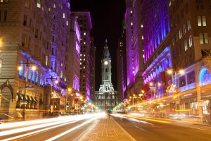 Philadelphia Downtown hält viele Shopping- und Einkaufsmöglichkeiten bereit.