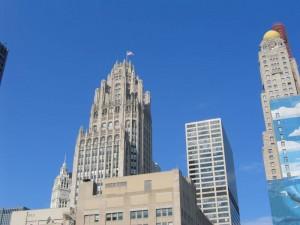 Das Wrigley Building wurde im Jahre 1924 für den Kaugummikonzern errichtetet.