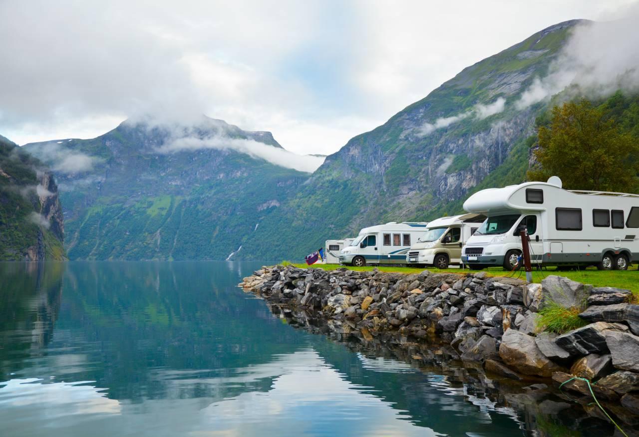 Camping In Us Amerikanischen Nationalparks