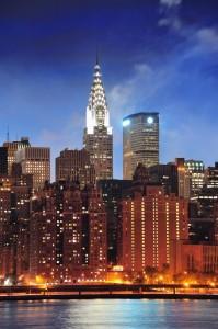 Das Chrysler Building ist 319 Meter hoch.