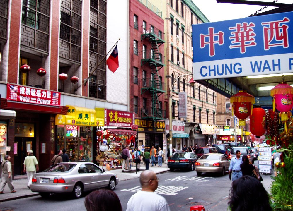 Chinatown Die Chinesen Stadt In New York City