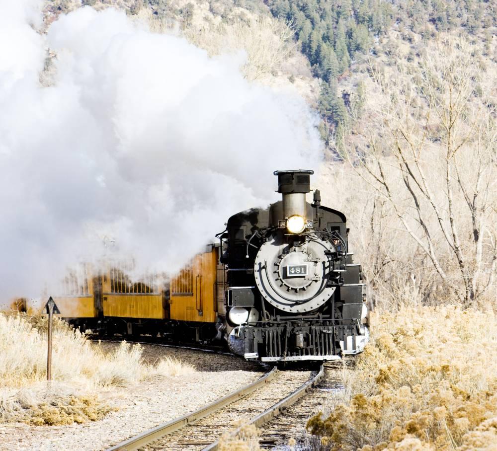 Eisenbahn in den usa