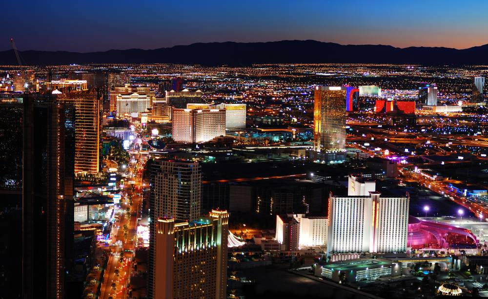 Las Vegas ist ein bedeutendes Touristikzentrum, in das jährlich etwa ...