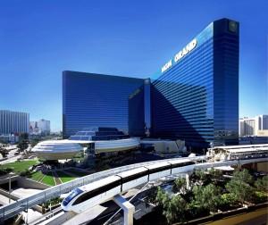 Auf dem Strip sind mehrere Casinos durch vollklimatisierte und kostenlose Monorails miteinander verbunden.