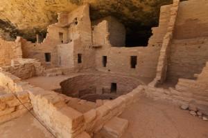 Das Spruce Tree House gehört zu den besser erhaltenen Ruinen des Mesa Verde Nationalparks.