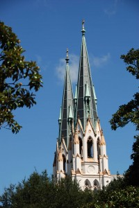 Die Cathedral of St. John the Baptist, Savannah.