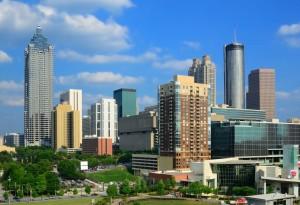 Nicht nur die über 400.000 Einwohner machen Atlanta zu einer imposanten Stadt.