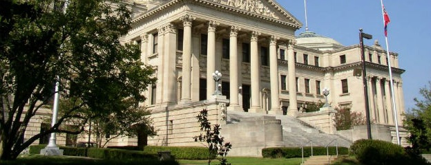 Mississippi New State Capitol Building in Jackson.