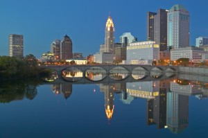 Columbus ist die Hauptstadt des US-Bundesstaates Ohio.
