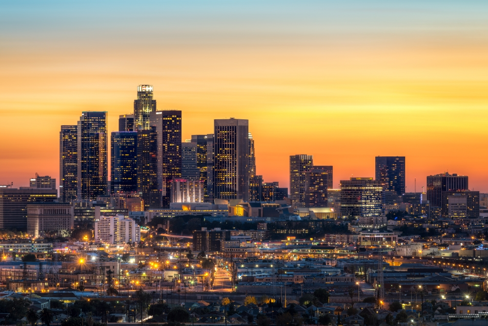 Los angeles die stadt der stars und million re for In the city of la