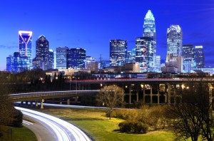 Charlotte ist die größte Stadt des US-Bundesstaates North Carolina
