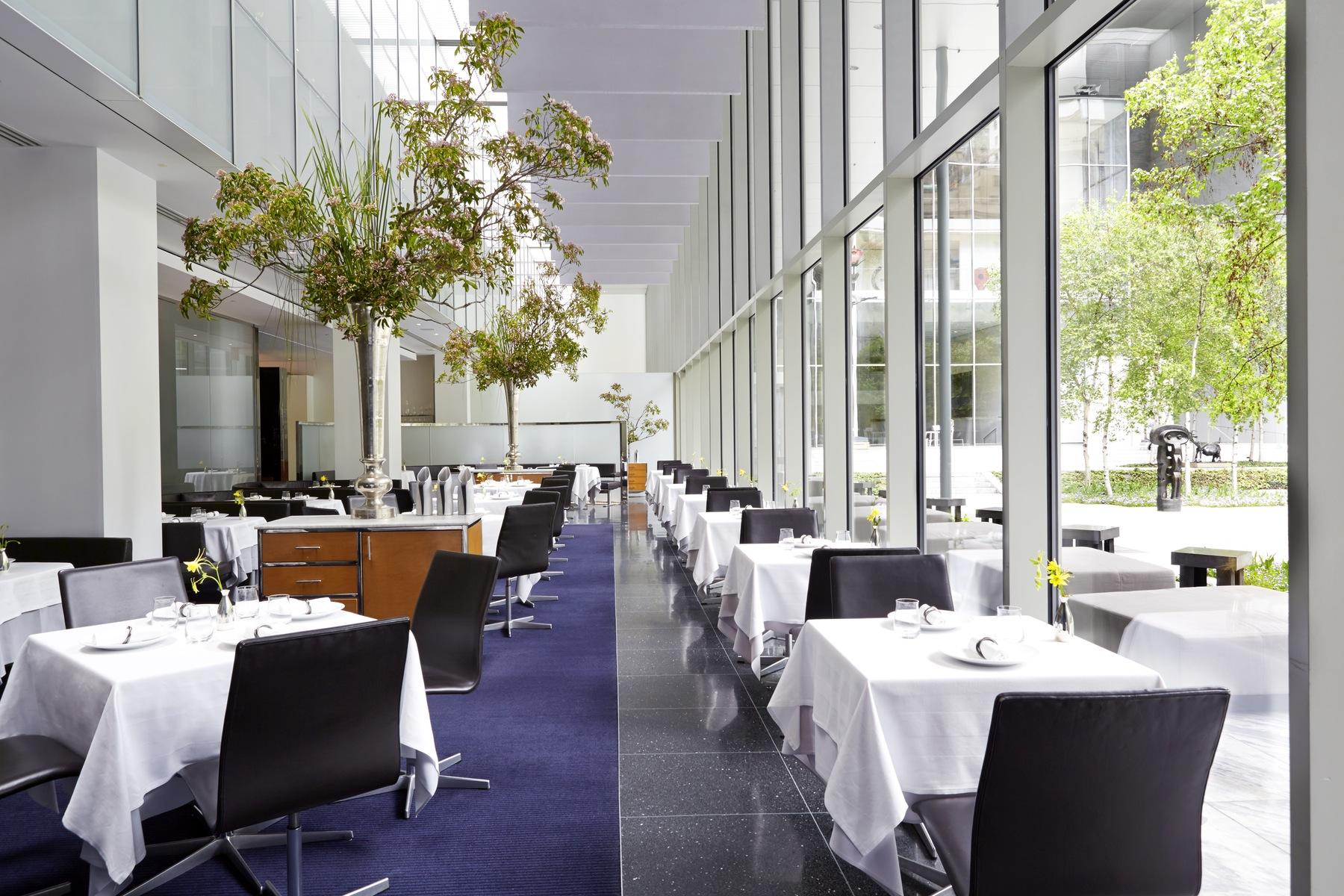 im restaurant modern im museum of modern art in new york