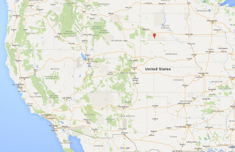 Geisterstadt in South Dakota zu verkaufen