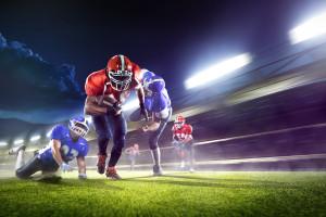 American-Football wird auch in Deutschland immer beliebter. Bildquelle: Eugene Onischenko – 345202910 / Shutterstock.com