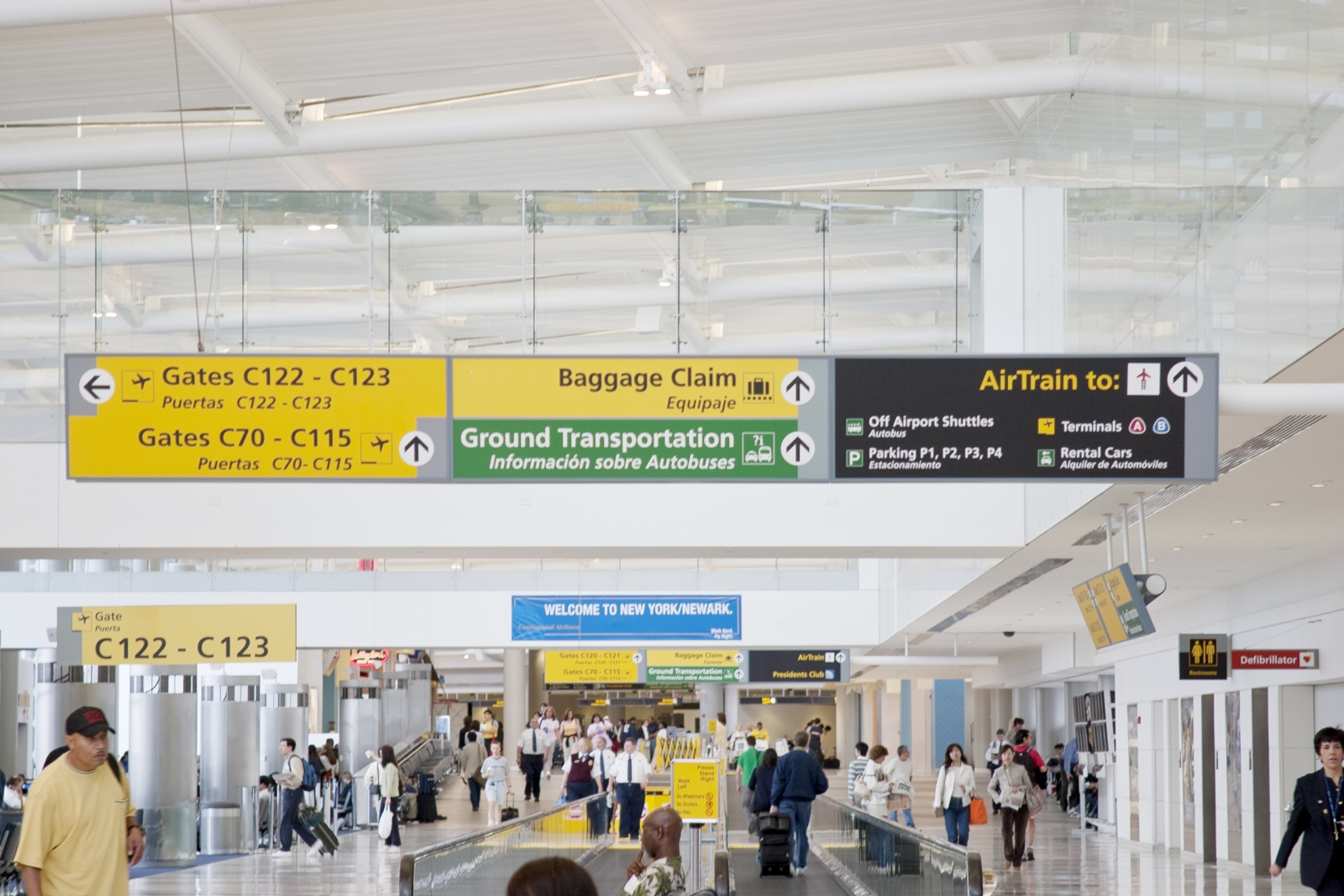 Newark Airport Ankunft