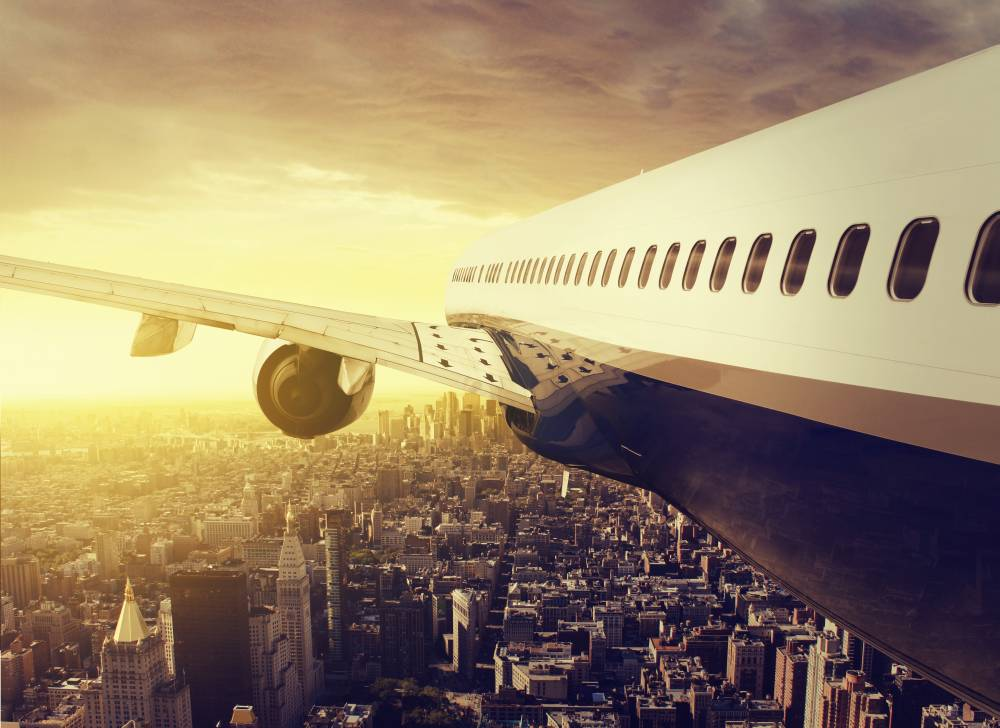 Flug Von New York Nach Frankfurt Ankunft
