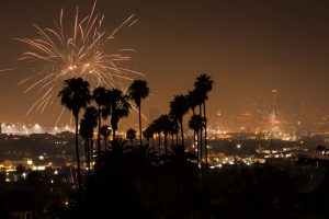 Silvester in Los Angeles