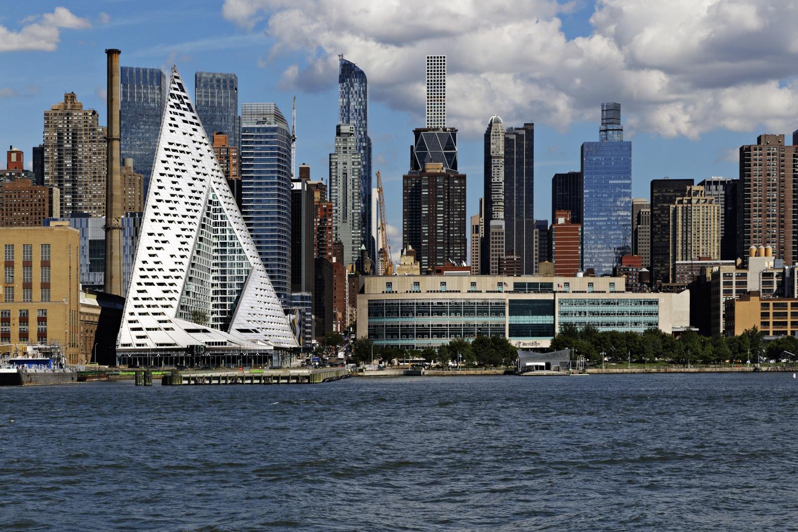 Außergewöhnliches Gebäude in New York gewinnt Hochhauspreis ...