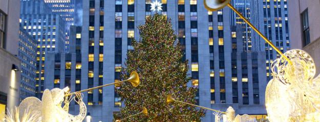 New york weihnachtsbaum am rockefeller center leuchtet wieder - Weihnachtsbaum rockefeller center ...