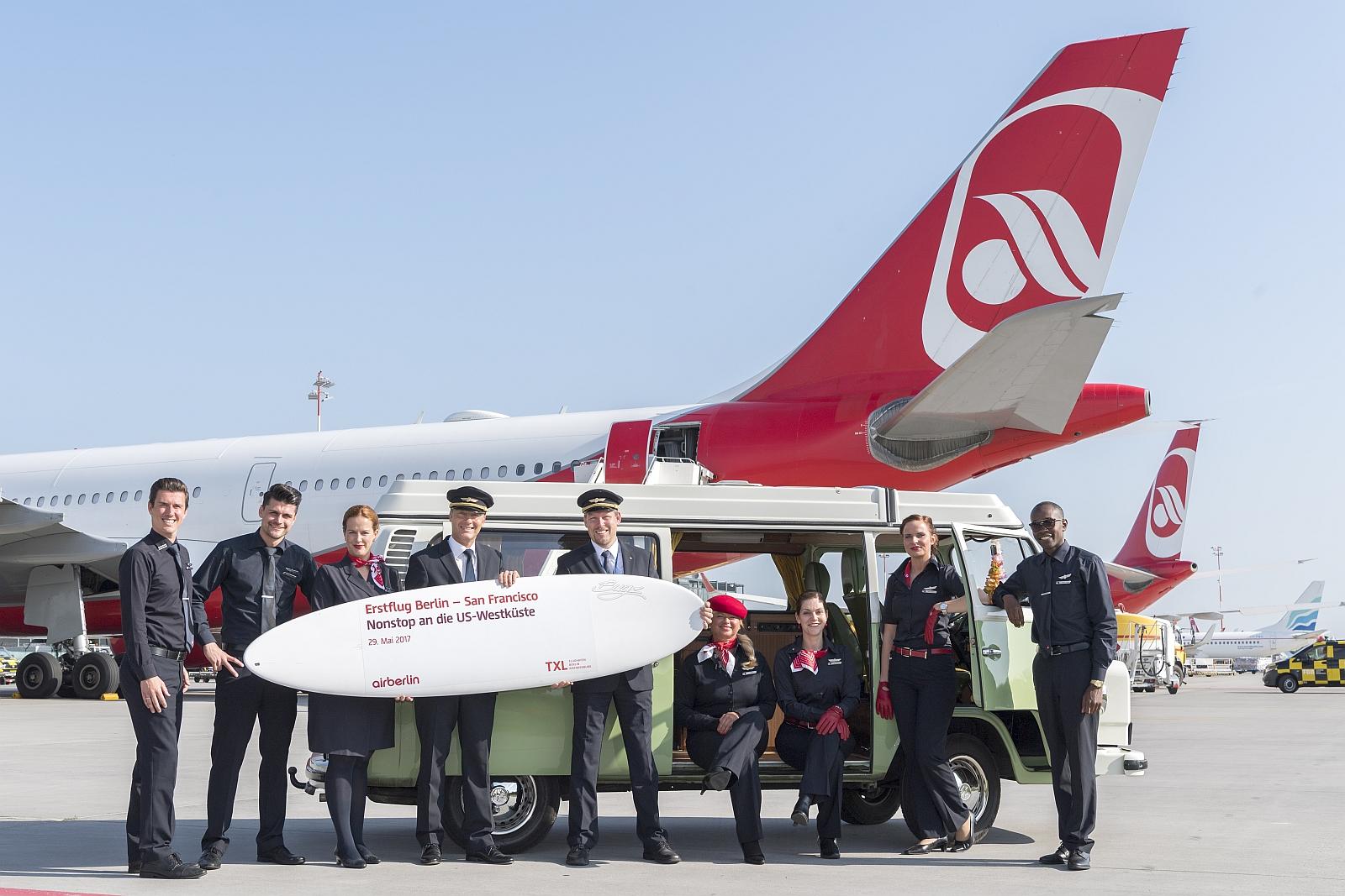 Air Berlin fliegt von Berlin nach San Francisco - usatipps.de