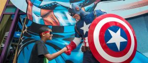 Die Marvel Super Hero Island widmet sich den Comics des Marvel-Verlags. Foto: Universal's Islands of Adventure