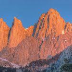 Der Mount Whitney ist mit 4.421 Metern der höchste Berg der USA außerhalb Alaskas.